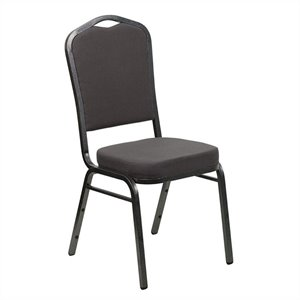Banquet Stacking Chair in Gray