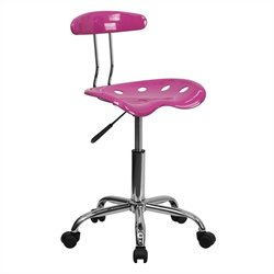 Flash Furniture Computer Task Chair in Pink