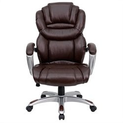 Flash Furniture High Back Office Chair in Brown