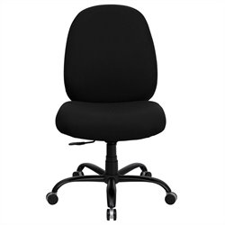 Flash Furniture Hercules Series Office Chair in Black