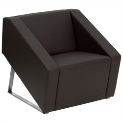 Reception Chair in Brown