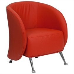 Flash Furniture Hercules Jet Series Reception Chair in Red