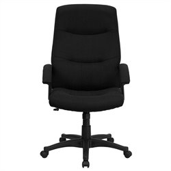 Flash Furniture Swivel Office Chair in Black