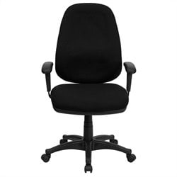 Flash Furniture High Back Office Chair in Black