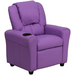 Flash Furniture Kids Recliner in Lavender