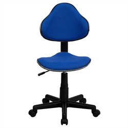 Modern Ergonomic Task Office Chair in Blue