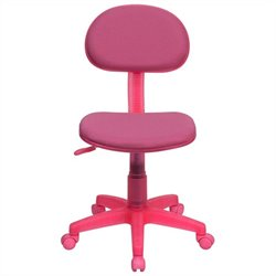Flash Furniture Ergonomic Task Chair in Pink