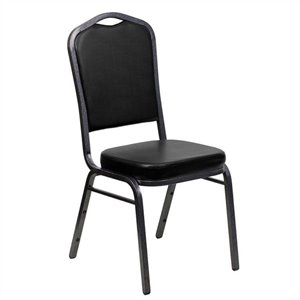 Banquet Stacking Chair in Black