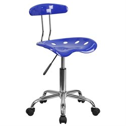 Flash Furniture Computer Task Chair in Blue