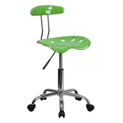 Flash Furniture Computer Task Chair in Lime