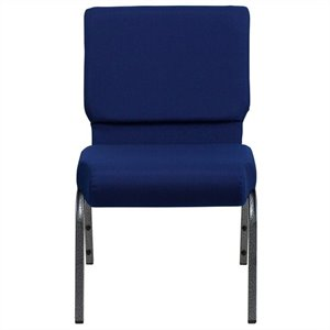 Stacking Church Stacking Guest Chair in Navy