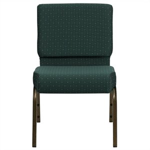 Church Stacking Guest Chair in Green