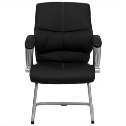 Flash Furniture Executive Side Chair with Black Leather