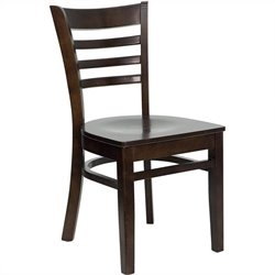 Flash Furniture Hercules Series Ladder Back Restaurant Dining Chair