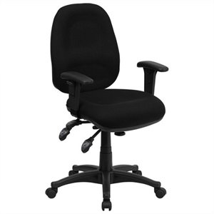 Multi Functional Computer Office Chair in Black