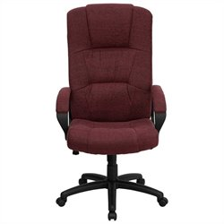 Flash Furniture High Back Office Chair in Burgundy