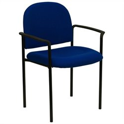 Stacking Side Office Stacking Chair in Navy Blue