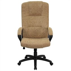 Flash Furniture High Back Office Chair in Beige