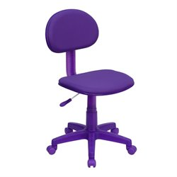 Flash Furniture Ergonomic Task Chair in Purple
