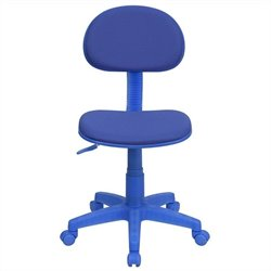 Flash Furniture Ergonomic Task Chair in Blue