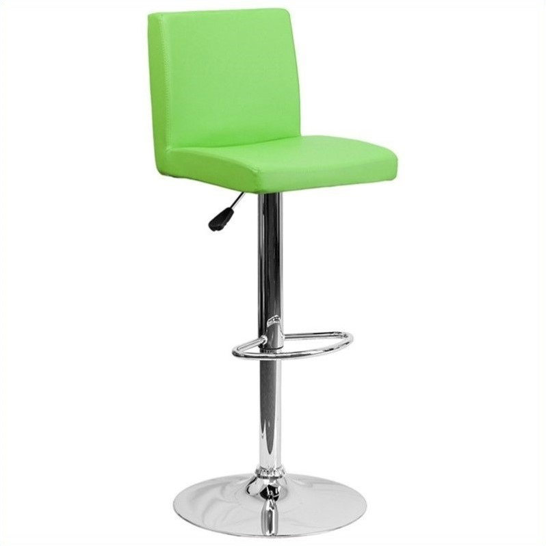 Contemporary Bar Stool in Green