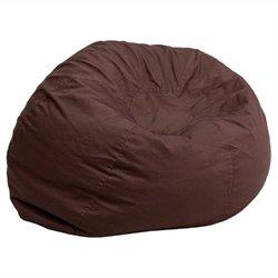 Flash Furniture Small Kids Bean Bag Chair in Brown