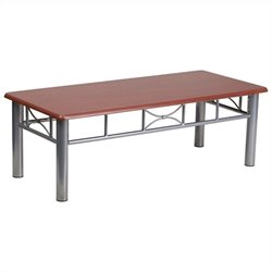 Flash Furniture Laminate Coffee Table in Mahogany