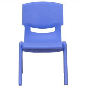 Stackable Chair in Blue