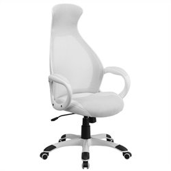 Flash Furniture High Back Executive Chair in White