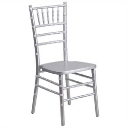 Dining Chair in Silver