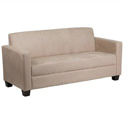 Flash Furniture Grand Sofa in Light Brown