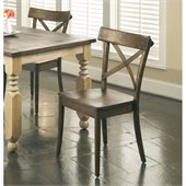 Largo Furniture Coronado Side Chair in Chocolate
