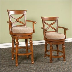 Largo Furniture Arbors Swivel Stool in Tobacco