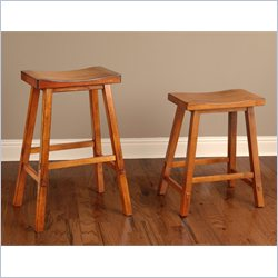 Largo Furniture Biscayne Stool in Tobacco - 24