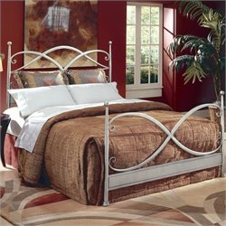 Largo Furniture Cutlass Bed in German Silver - Queen