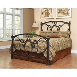 Largo Furniture Olivia Bed in Antique Bronze - Queen