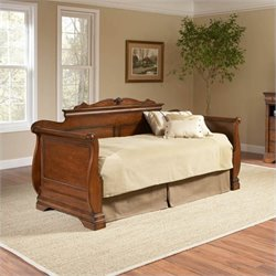 Largo Furniture Bordeaux Wood Daybed in Brown Cherry - Daybed Only