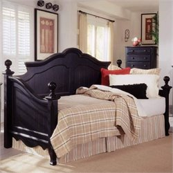 Largo Furniture Town & Country Wood Daybed in Onyx - Daybed Only