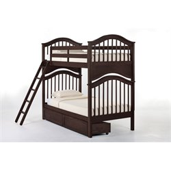 NE Kids School House Jordan Storage Slat Bunk Bed-MER-1211-77