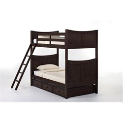 NE Kids School House Taylor Bunk Bed with Trundle-MER-1211-87