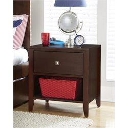 NE Kids Pulse 1 Drawer Nightstand-MER-1211-115