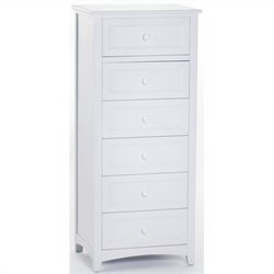 NE Kids School House Lingerie Chest in White