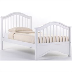 NE Kids School House Jordan Bed in White - Twin