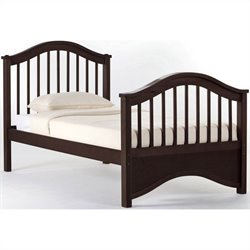 NE Kids School House Jordan Bed in Chocolate - Twin