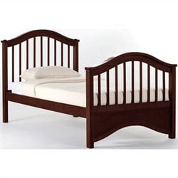 NE Kids School House Jordan Bed in Cherry - Twin