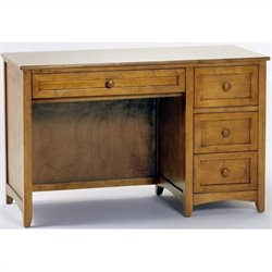 NE Kids School House Desk in Pecan