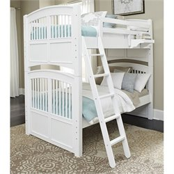 NE Kids Walnut Street Hayden Bunk Bed with Nightstand