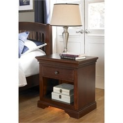 NE Kids Walnut Street Nightstand in Chestnut