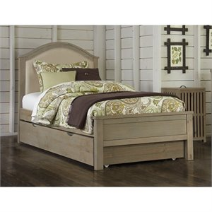 NE Kids Highlands Bailey Upholstered Bed with Trundle