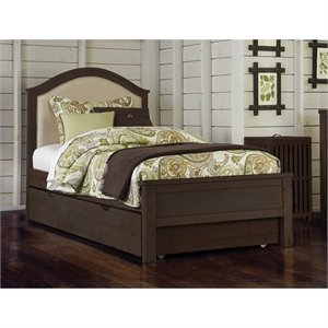 NE Kids Highlands Bailey Upholstered Bed with Trundle 1